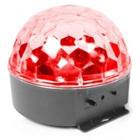 BeamZ Mini Star Ball Sound RGBAW LED 6x3W rood effect