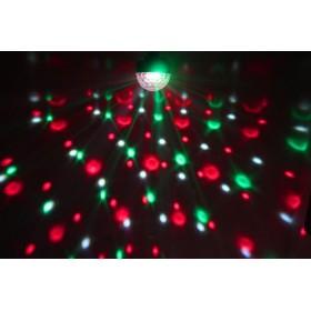 BeamZ Mini Star Ball Sound RGBAW LED 6x3W effect 1
