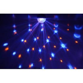 BeamZ Mini Star Ball Sound RGBAW LED 6x3W effect 2