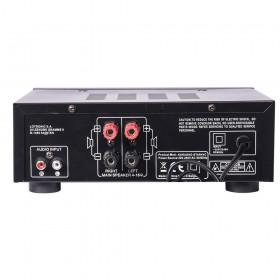 LTC Karaoke-Star4 MKII - All-In-1 Karaoke set - achterkant versterker aansluitingen