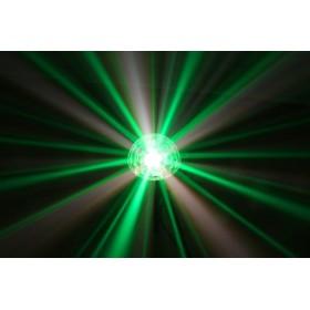 BeamZ Mini Star Ball Sound RGBAW LED 6x3W effect 3