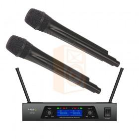 IBIZA Sound UHF20 2-Kanaals UHF Microfoonsysteem set - overzicht