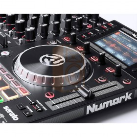 Numark NV II Digitale DJ Controller 4 kanalen speler bediening platter