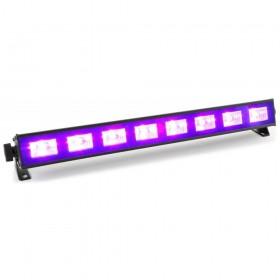 voorkant BeamZ BUV93 LED Bar 8x3W UV