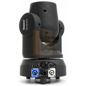 BeamZ Professional Panther 60 LED Beam achterkant en aansluitingen