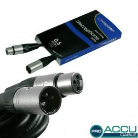AC-PRO-XMXF/0,5 XLRm/f 0,5m