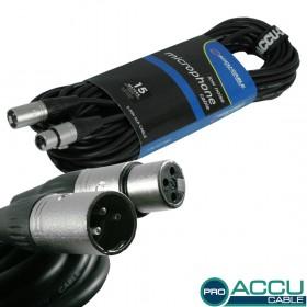 AC-PRO-XMXF/15 XLR m/f 15m