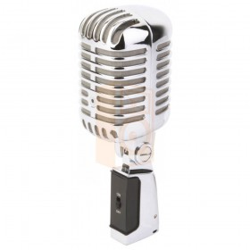 Power Dynamics PDS-M02 Microfoon Retro Style Chroom