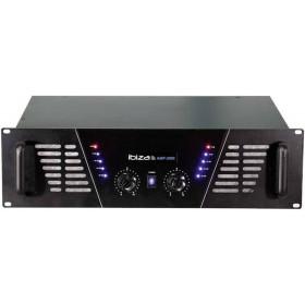 IBIZA Sound AMP2000 versterker van 2x1600W max. voorkant