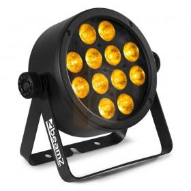 linker voorkant BeamZ Professional BAC306 - Aluminium LED Par 12x 12W LEDs (RGBAW-UV)