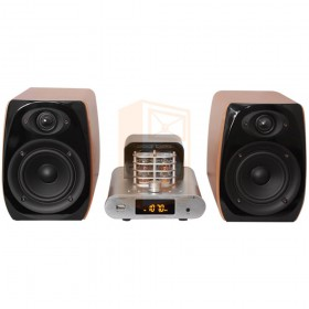 Madison MAD-TA15BT Vintage Audio Systeem 2 x 30W RMS - recht voor aanzicht