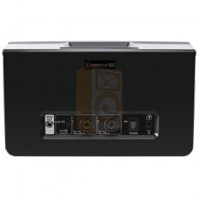 Mackie FreePlay LIVE Draadloze PA Bluetooth Speaker achterkant aansluitingen