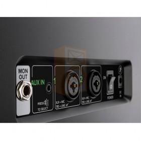 Mackie FreePlay LIVE Draadloze PA Bluetooth Speaker aansluitingen zoom