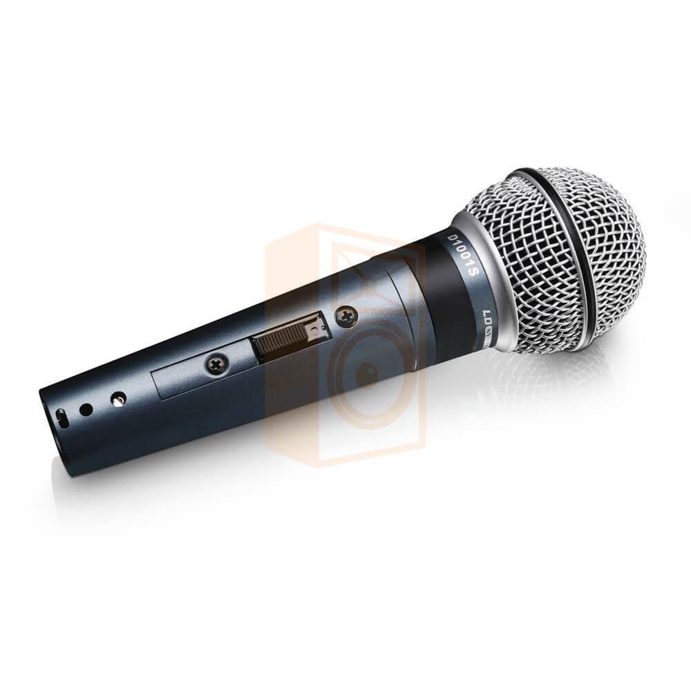 LD Systems D1001S - Dynamische Vocaal Microfoon met aan/uit knop