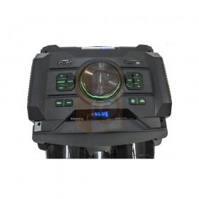 Ibiza Sound STANDUP-DJ-MKII Mobiele DJ box 300W met usb, bluetooth & draadloze microfoon - bediening knoppen bovenkant