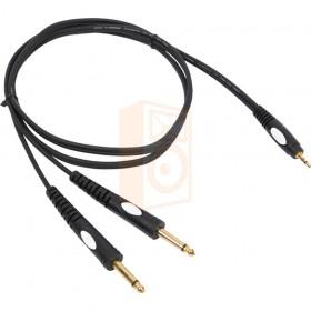 BST mini jack/jack-3 - 3M rca naar jack kabel