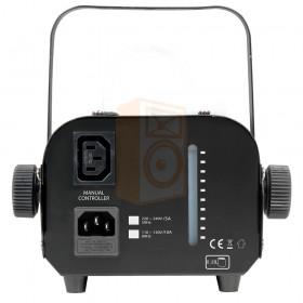 American DJ VF400 compacte rookmachine 400W - achterkant aansluitingen