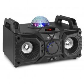Fenton KAR100 Sing Station - 100w speaker met accu voorzijde links