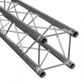 zicht van onder  Duratruss DT 34-050 - Rechte vierkante aluminium truss van 5 meter