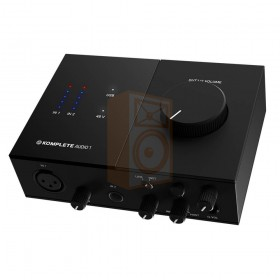 Native instruments Komplete audio 1 Audio interface geluidkaart - bovenkant