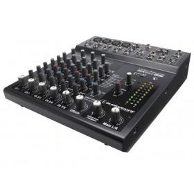 Audiophony MX822 - Compact mengpaneel met digitale effecten