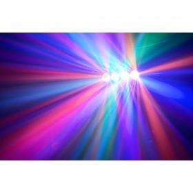 BeamZ DJ Bank BX 4x 3W RGBA LED's IR - effect 3