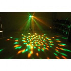 BeamZ DJ Bank BX 4x 3W RGBA LED's IR - effect 4