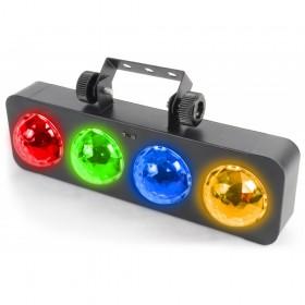 BeamZ DJ Bank BX 4x 3W RGBA LED's IR - lichteffect