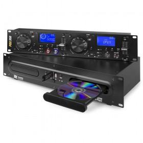 Power Dynamics PDX350 - Dubbele CD/MP3/USB Speler - hoofdafbeelding