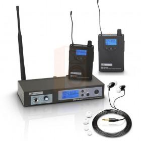 LD Systems MEI100 G2 - met extra ontvanger Receiver