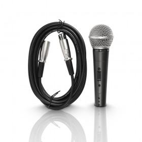 LD Systems D 1006 Dynamic Vocaal Microfoon met schakelaar en xlr kabel meegeleverd