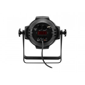 EUROLITE LED ML-56 COB RGBAWUV Hypno Floor bk - 6 in 1 COB LED Spot met RGB SMD ring bediening en aansluiting