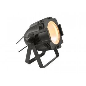 EUROLITE LED ML-56 COB RGBAWUV Hypno Floor bk - 6 in 1 COB LED Spot met RGB SMD ring warm wit