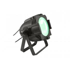 EUROLITE LED ML-56 COB RGBAWUV Hypno Floor bk - 6 in 1 COB LED Spot met RGB SMD ring groen