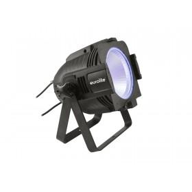 EUROLITE LED ML-56 COB RGBAWUV Hypno Floor bk - 6 in 1 COB LED Spot met RGB SMD ring blauw