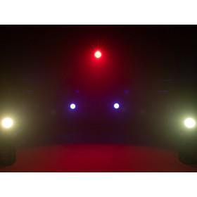 EUROLITE LED ML-56 COB RGBAWUV Hypno Floor bk - 6 in 1 COB LED Spot met RGB SMD ring show 9