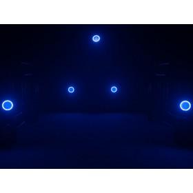 EUROLITE LED ML-56 COB RGBAWUV Hypno Floor bk - 6 in 1 COB LED Spot met RGB SMD ring show 13