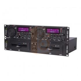 Ibiza sound CDS-200 Dubbele CD/USB speler - schuin voor