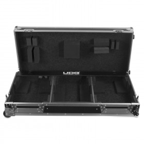 UDG Ultimate Flight Case Set Denon DJ SC5000/ X1800 Silver Plus voorkant 2