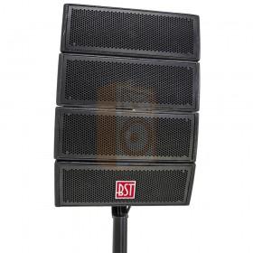 BST Pro HELIOS2.1 - Actief 2.1 Line Array PA Systeem - 1 set van 4x satelliet speakers