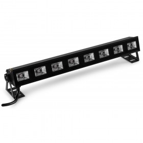 BeamZ BUVW83 BAR - 8x 3W UV/Wit 2in1 LED uit
