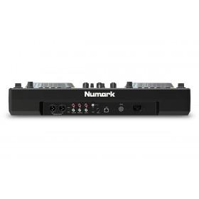 Numark Mixdeck Express V2 DJ Controller met CD en USB - achterkant aansluitingen