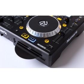 Numark Mixdeck Express V2 DJ Controller met CD en USB - zoom van cd speler en jogweel