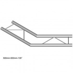 DuraTruss DT 22-C23H-L135 - 2-way-corner 135°, horizontal
