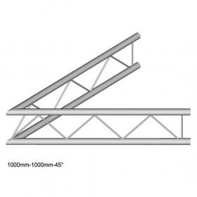 DuraTruss DT 22-C19V-L45 - 2-voudige hoek 45 °, verticaal