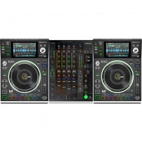Denon DJ 2x SC5000M + X1800 Prime Set - gehele Pro DJ Club set