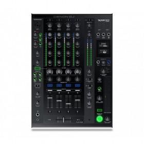 Denon DJ 2x SC5000M + X1800 Prime Set - X1800 Pro DJ club mixer