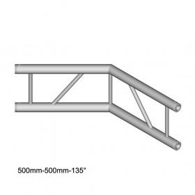 DuraTruss DT 32/2-C23V-L135 - tweerichtingshoek 120 ° verticaal
