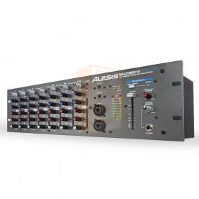 Alesis MultiMix 10 Wireless 10 kanaals rackmountmixer met Bluetooth Wireless - rechts voor
