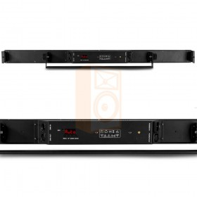 BeamZ LCB14 Hybride LED BAR Pixelbesturing - achterkant en aansluitingen